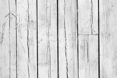 bakgrund målat ridit ut vitt trä Royaltyfria Bilder
