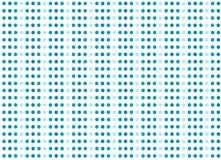 Bakgrund med blåa skraj retro stilbollar stock illustrationer