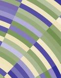 Bakgrund med blått- och gräsplanbågar enkel modell Arkivbilder