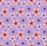 Bakgrund med blommor Royaltyfri Bild