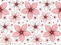 Bakgrund med blommor Royaltyfri Fotografi