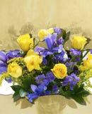 Bakgrund med blommor Arkivfoto