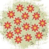 Bakgrund med blommor Royaltyfri Foto