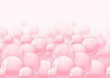 Bakgrund med bubbelgum Royaltyfri Foto