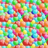 Bakgrund med colorfull klumpa ihop sig sömlöst, Arkivbilder