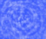 Bakgrund med en rund blå lutning Royaltyfri Foto