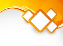 Bakgrund med fyrkanter Fotografering för Bildbyråer
