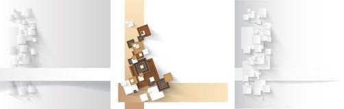 Bakgrund med fyrkanter. vektor illustrationer