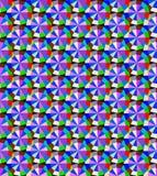 Bakgrund med geometriska modeller av ädelstenar Arkivbild