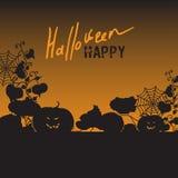 Bakgrund med Halloween Fotografering för Bildbyråer