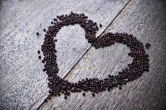 Bakgrund med hjärta för valentin dag Arkivfoto