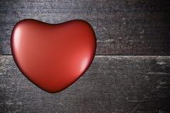 Bakgrund med hjärta på valentin dag Fotografering för Bildbyråer