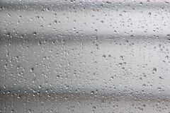 Bakgrund med kondensationsexponeringsglas Royaltyfria Bilder