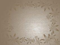Bakgrund med leaves Royaltyfri Bild