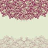 Bakgrund med lilor vinkar Arkivfoto