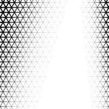 Bakgrund med lutning av triangeln formade cellraster Arkivfoto
