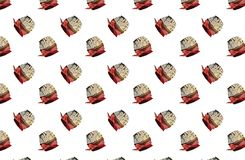 Bakgrund med muffin Arkivbild