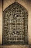 Bakgrund med orientaliska prydnadar Royaltyfria Bilder