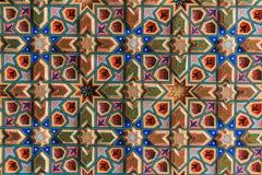 Bakgrund med orientaliska prydnadar Royaltyfri Bild