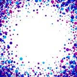 Bakgrund med purpurfärgade droppar Royaltyfria Bilder