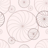Bakgrund med roterande cirklar Arkivfoto