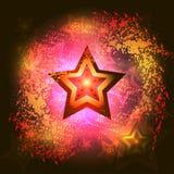 Bakgrund med stjärnor Royaltyfri Fotografi