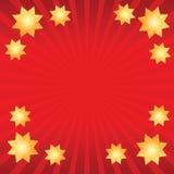 Bakgrund med stjärnor Arkivfoto