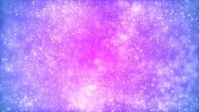 Bakgrund med trevliga rosa partiklar vektor illustrationer