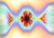 Bakgrund och abstrakt begrepp genom att använda linjer och ljus Royaltyfri Foto