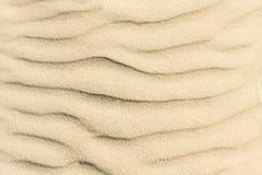 Bakgrund och textur av den bästa sikten för sand Royaltyfri Foto