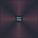 Bakgrund och textur för abstrakt rosa rastrerat rumperspektiv för färg mörk vektor illustrationer
