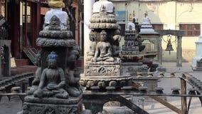 Bakgrund på forntida asiatiskt tema arkivfilmer