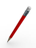 bakgrund pencils white Royaltyfria Foton