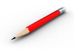 bakgrund pencils white Royaltyfria Bilder