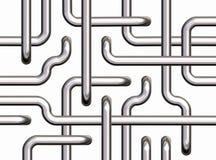 bakgrund pipes white royaltyfri illustrationer