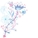 bakgrund planlägger blom- sommar Royaltyfri Bild