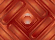 Bakgrund ramar för scrapbooking från geometriska former, den ljusa glödande hösten färgar vektor illustrationer