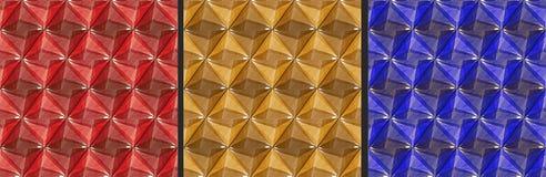 Bakgrund - sömlös textur - ädelstenar Royaltyfri Fotografi