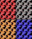 Bakgrund - sömlös textur - trianglar Fotografering för Bildbyråer