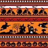 bakgrund seamless halloween Royaltyfria Bilder