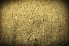 bakgrund skrapat trä Royaltyfri Bild