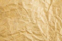bakgrund skrynklig paper textur arkivfoto
