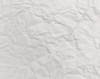bakgrund skrynklig paper texturwhite Royaltyfria Foton