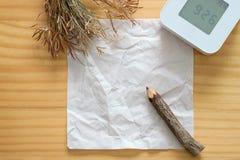 bakgrund skrynklig paper texturwhite Arkivfoton