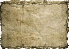 bakgrund skrynkligt papper royaltyfria foton