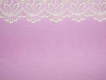 bakgrund snör åt pink Royaltyfria Bilder
