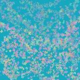 Bakgrund som är färgrik och som är abstrakt med fjärilar Royaltyfri Foto