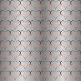 Bakgrund som är seamless mönstrar, hjärtor Arkivfoto