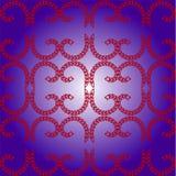 Bakgrund som är seamless mönstrar, lattice från hjärtor Royaltyfria Foton