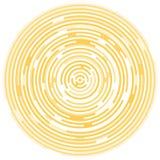 Bakgrund som göras av cirklar Arkivfoto